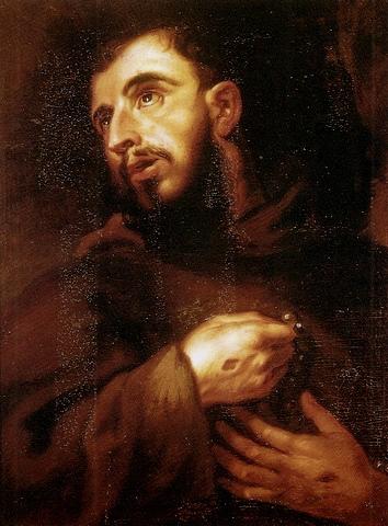 Napomenutí sv. Františka -Ať se nikdo nepyšní, ale ať se chlubí křížem Páně