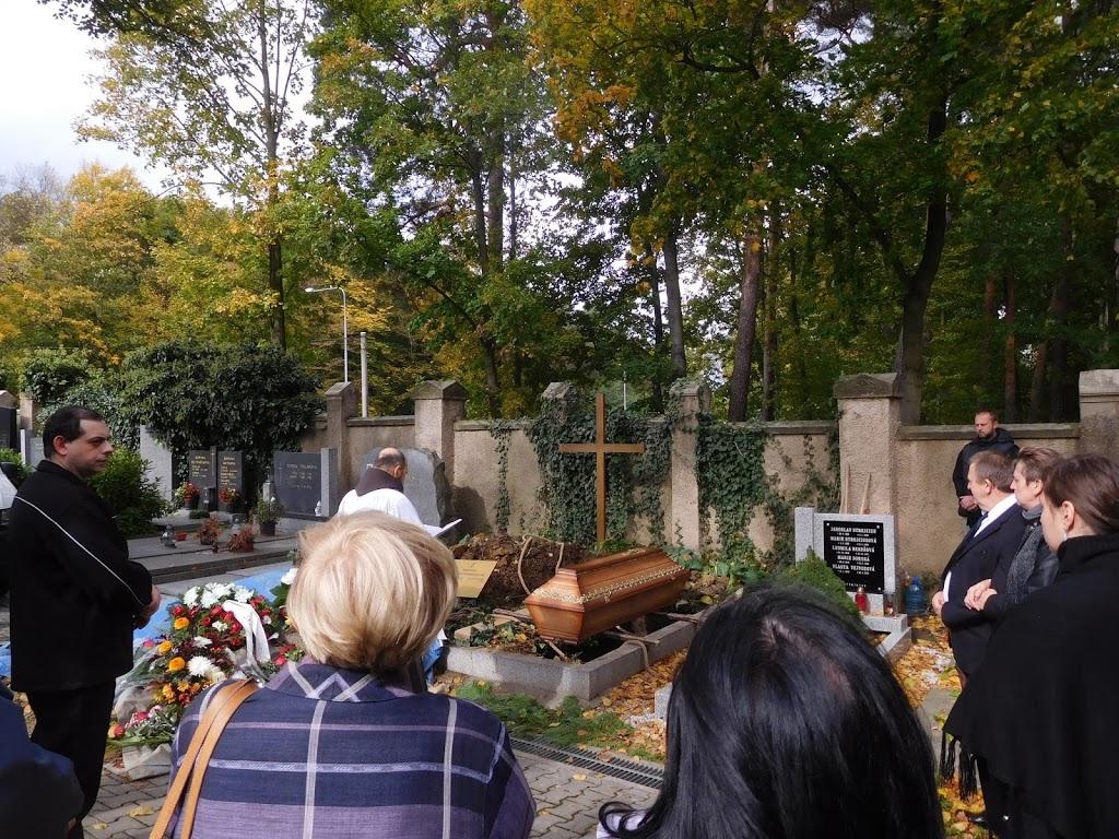 4.10.2017 Pohřeb sestry Aničky Křiváčkové
