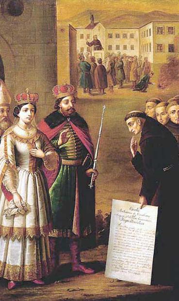 Kronika františkána Eberharda Abloufa z 15. století