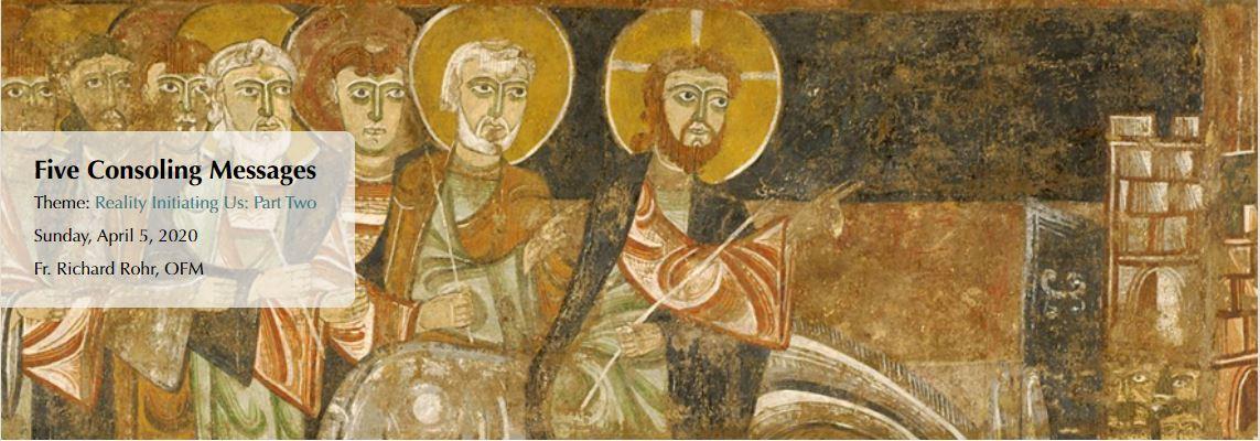 Pět utěšujících zpráv od františkána Richarda Rohra OFM